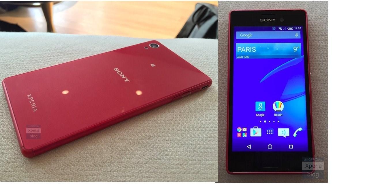 Живые фото Xperia Z4 Aqua и Xperia Z4 Tablet