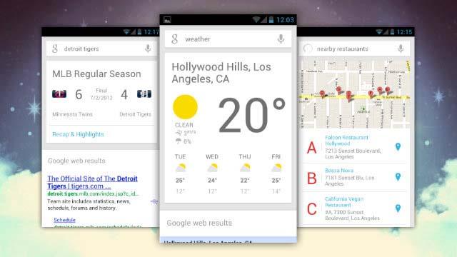 Обновление Google Now привносит новые карточки от 40 сторонних приложений