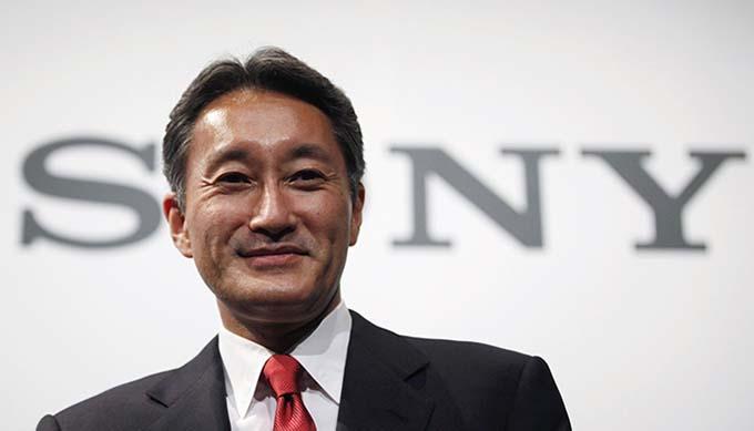 Новая структура управления Sony