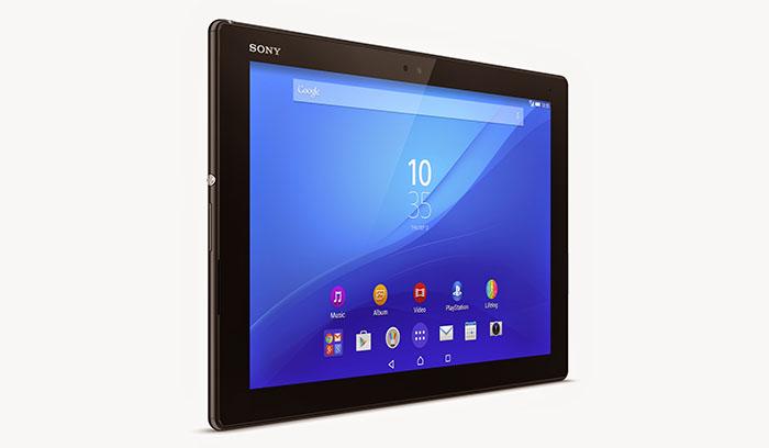 Анонс Xperia Z4 Tablet - лучший планшет Sony