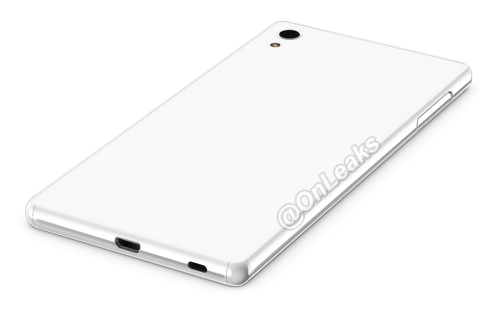 Новые промо рендеры Xperia Z4 просочились в сеть