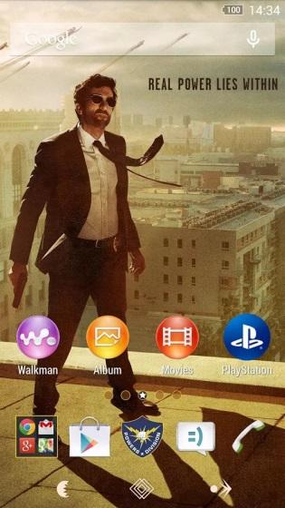 В честь запуска эксклюзивного сериала для PS4 выпустили специальную Xperiaтему