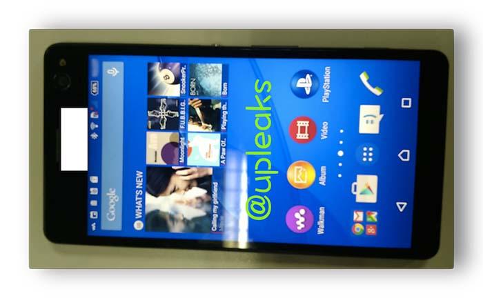 Первые слухи о XperiaE5306 - приемнике селфи-смартфона Xperia C3