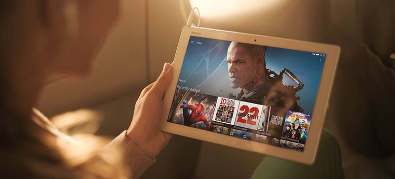 Xperia Z4 Tablet - лучший планшет Sony
