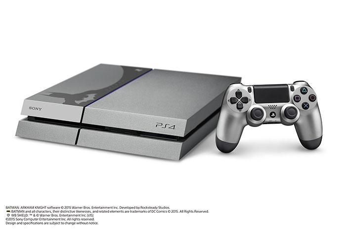 Sony выпустит эксклюзивный бандл PlayStation 4 в стиле Batman