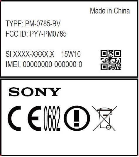 Xperia Z4 прошел сертификацию в FCC