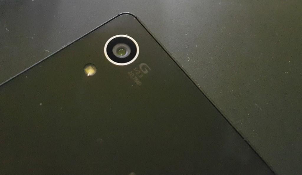 Первые живые снимки Xperia Z4