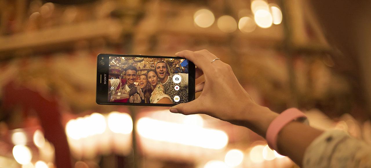 Анонс Xperia C4 – отличный селфи-смартфон