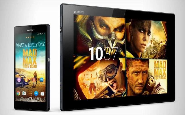 Sony выпустили Xperia тему посвященную фильму Безумный Макс (Mad Max)