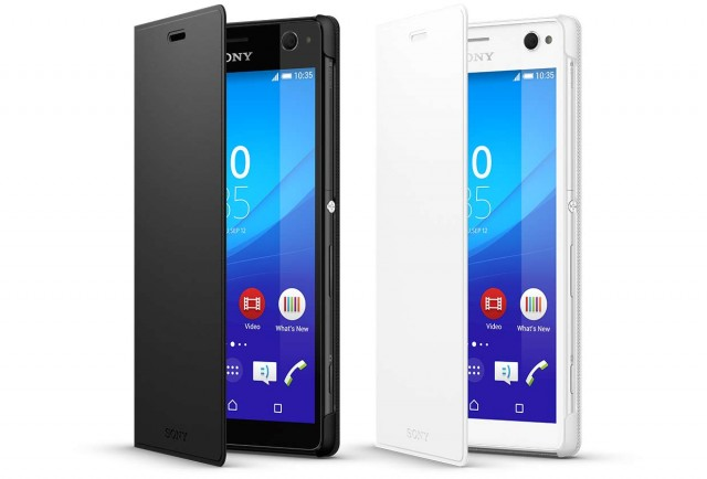 Чехол Sony Xperia XZ Style Cover Touch SCTF10 Blue