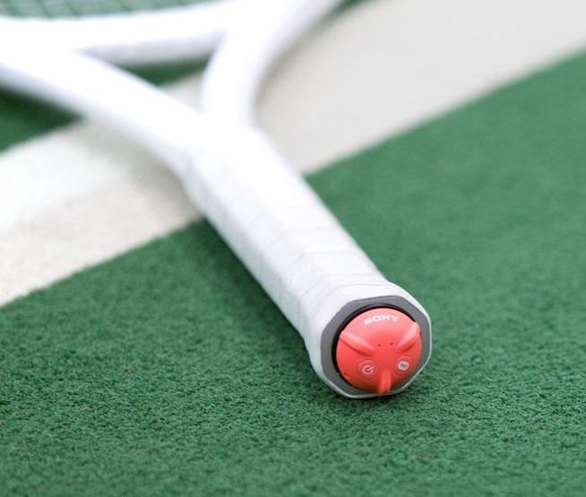 Спортивная новинка от Sony: Smart Tennis Sensor
