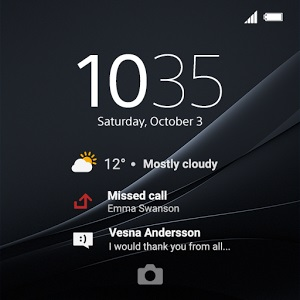 Xperia Z4 Style Cover Window темы для чехла SCR30 доступны в Google Play