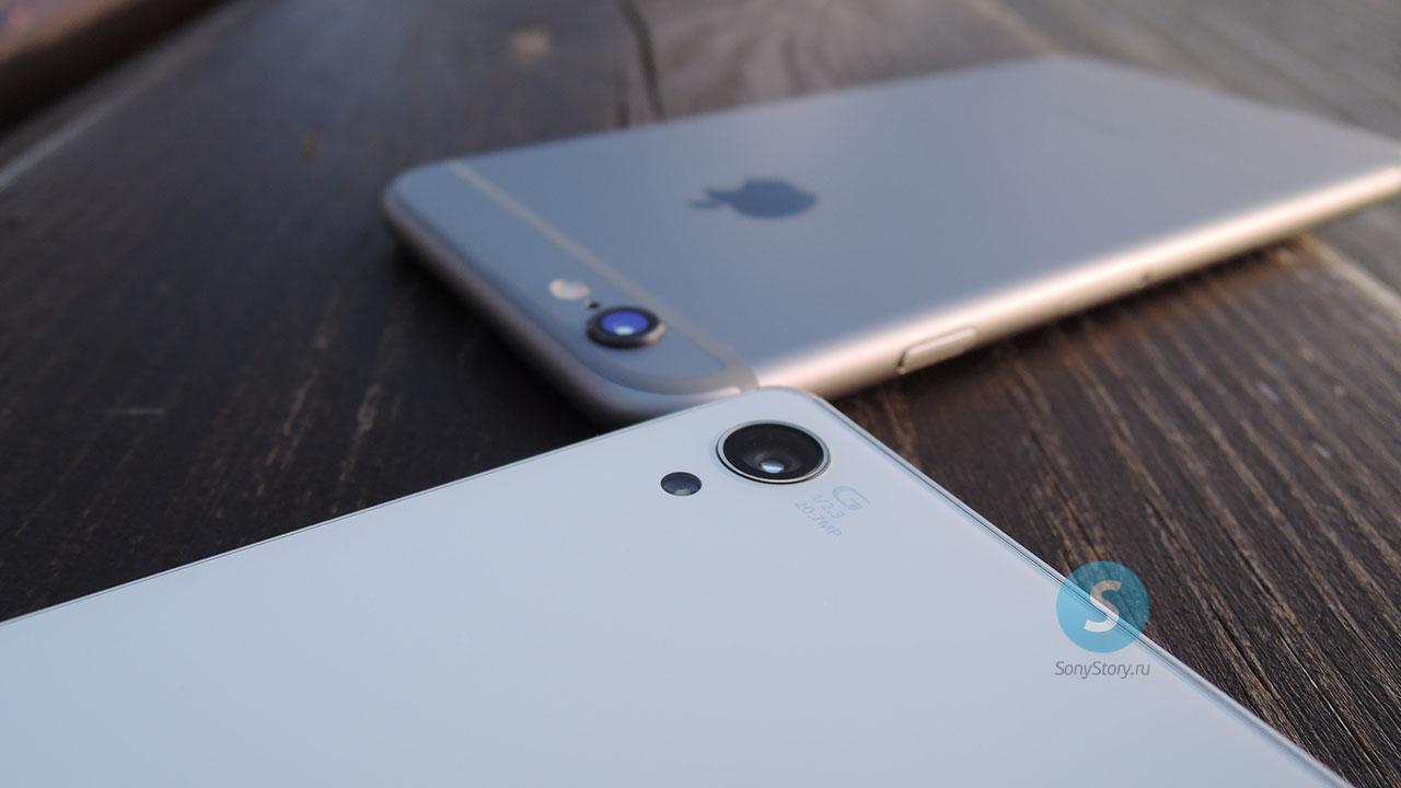 Xperia Z3 vs iPhone 6 - честное сравнение камер
