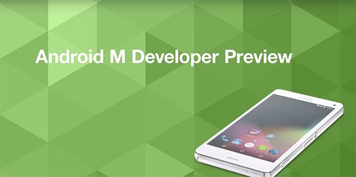 Android M теперь доступен для AOSP Xperia устройств