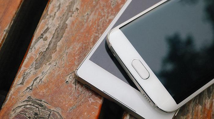 Сравнение внешнего вида Sony Xperia Z3+ vs Samsung Galaxy S6 Edge