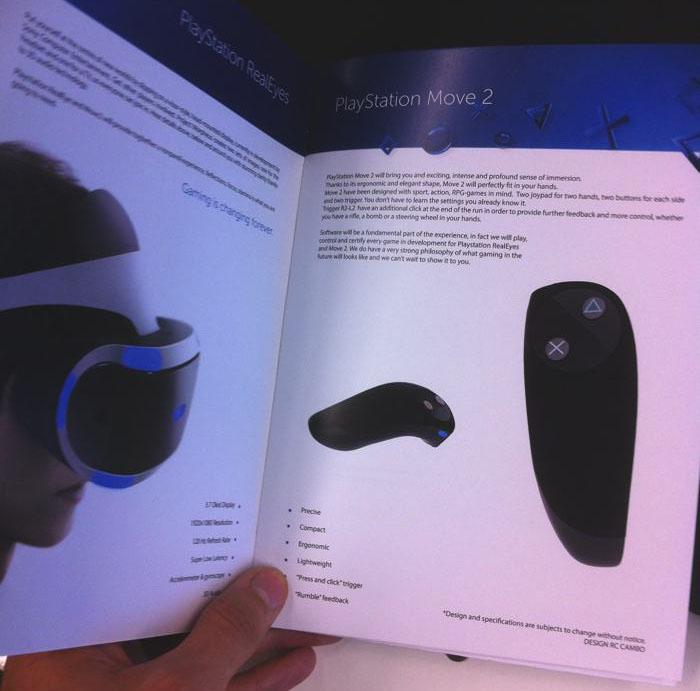 Playstation Move 2 - новый игровой контроллер Sony