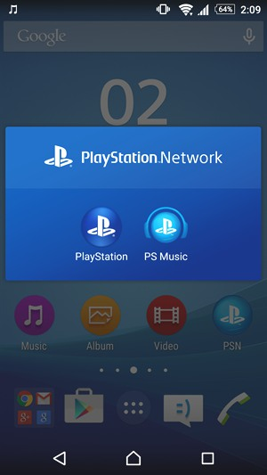 Android приложение Playstation Network