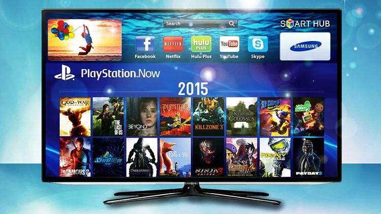 Playstation Now появился на Samsung Smart TV