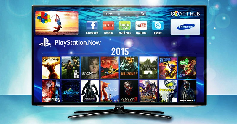 Playstation Now появился на Samsung Smart TV