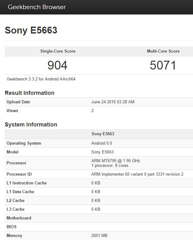 Sony-E5663_Geekbench