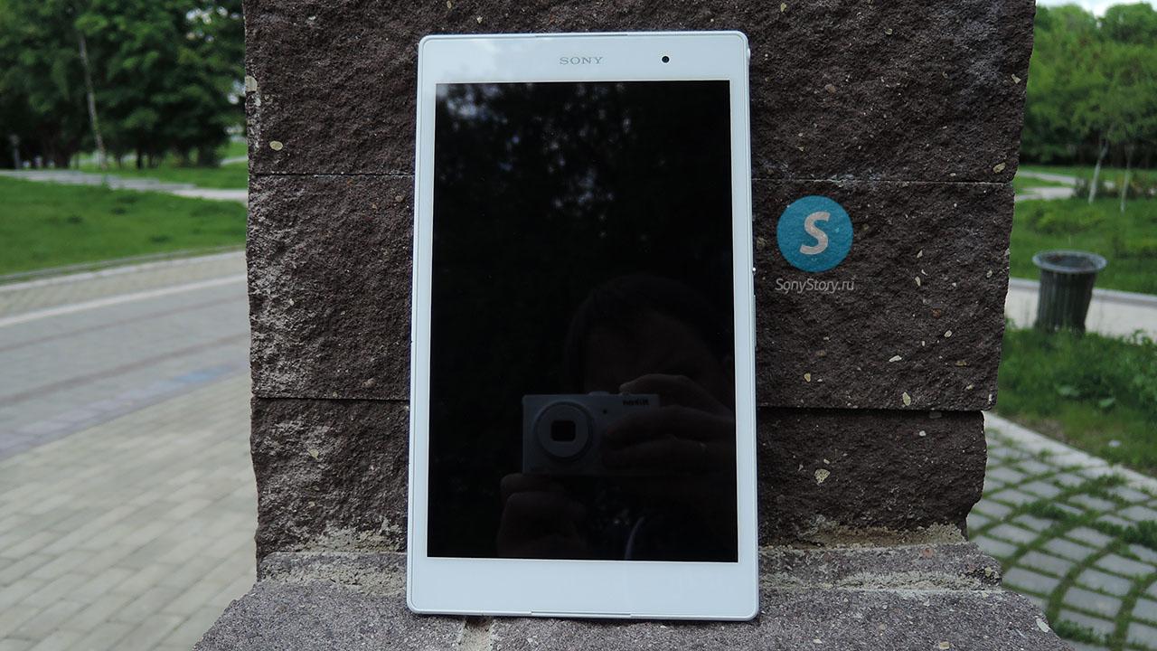 Xperia Z3 Tablet Compact - лицевая сторона