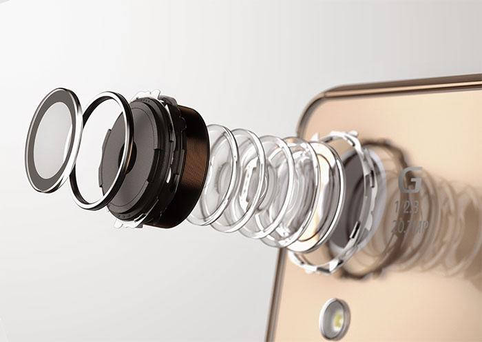 Камера Xperia Z3+ - линзы и модуль