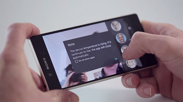 Xperia Z3+ - проблема перегрева в приложении Камера