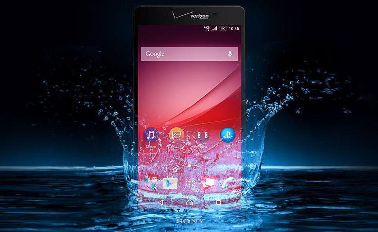 Анонс Xperia Z4v от Sony и Verizon