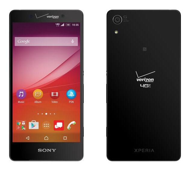 Sony совместно с Verizon анонсировали новый Xperia Z4v