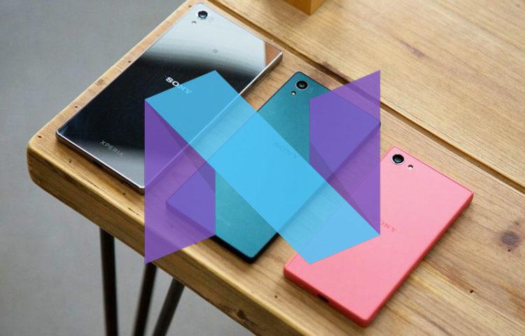 Sony Xperia Z5 серия получает обновление Android 7.1.1 Nougat