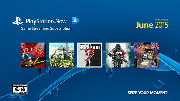 Новые игры для PlayStation Now в июне 2015
