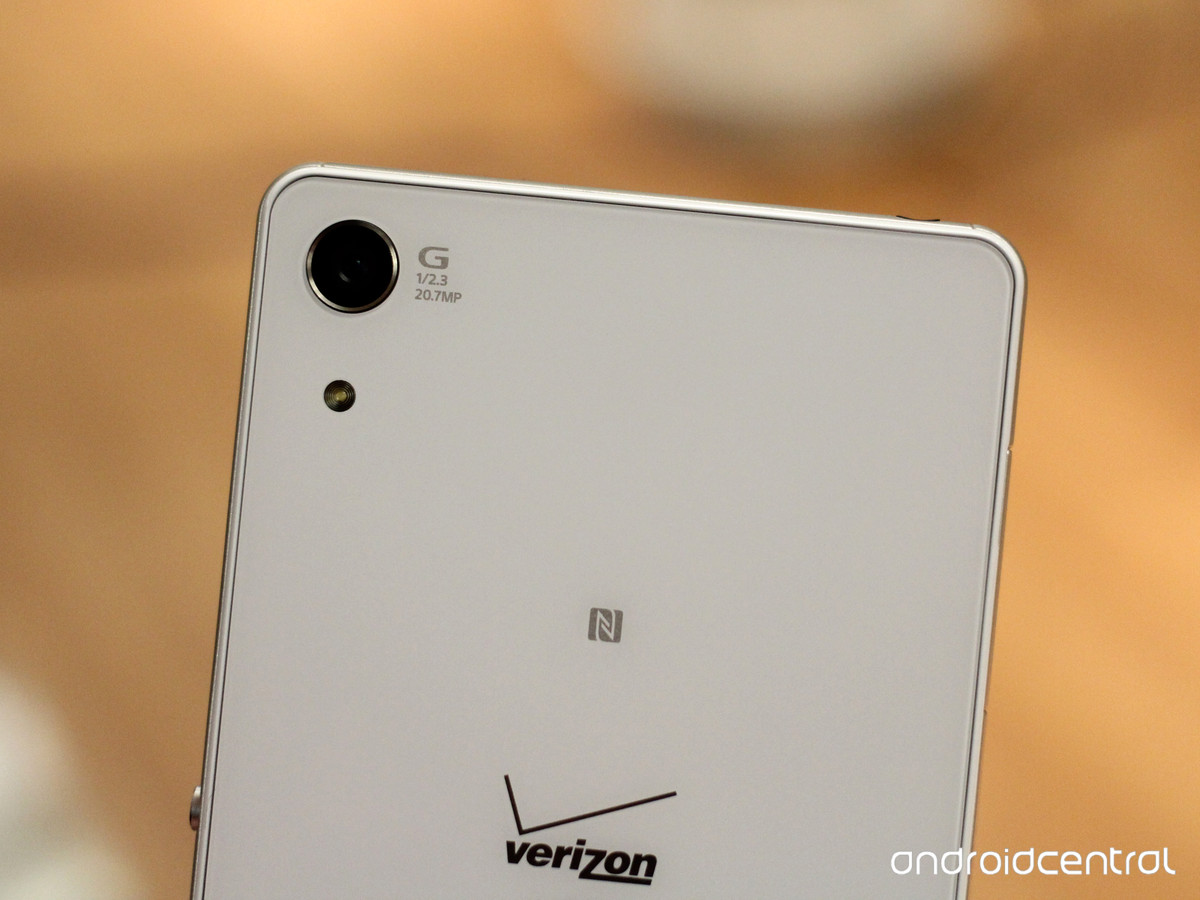 Живые фото Xperia Z4v - камера