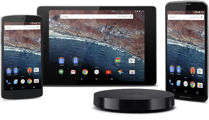 Android M на устройствах Nexus получает первое обновление