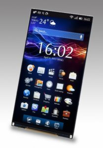 экран Xperia Z5 - 5.5 дюйма WQHD