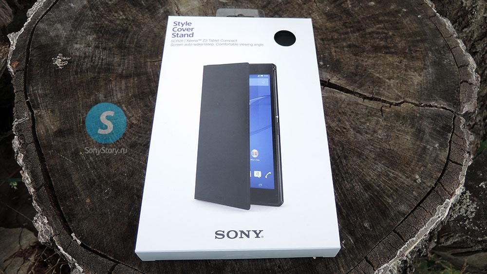 Обзор SCR28, оригинальный чехол для Xperia Z3 Tablet Compact