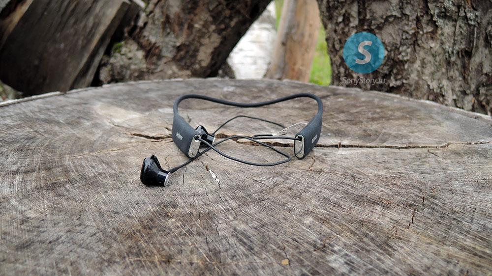 живые снимки и первый взгляд на bluetooth-гарнитуру Sony SBH70
