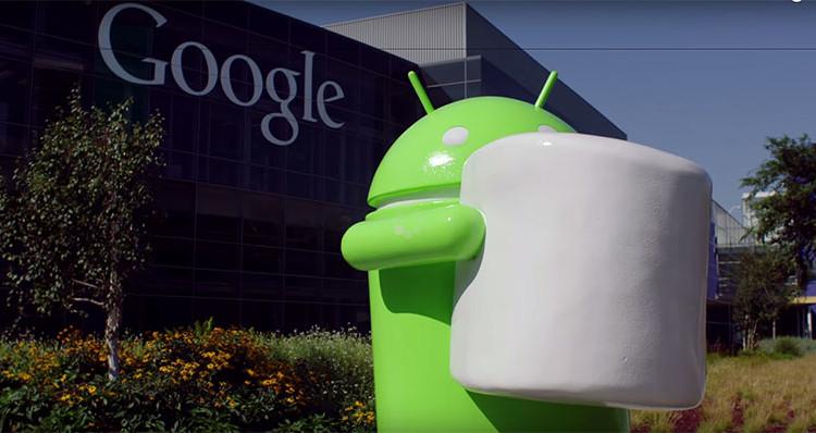 обновление Sony Android Marshmallow Concept