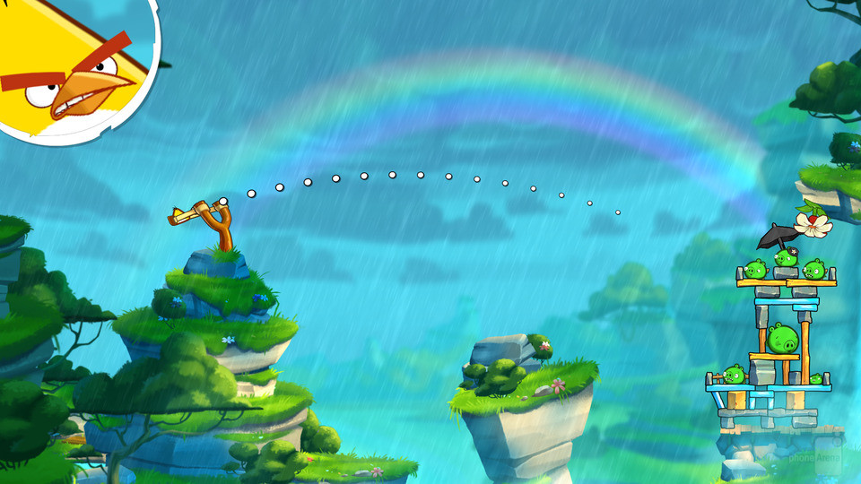 Angry Birds 2 геймплей