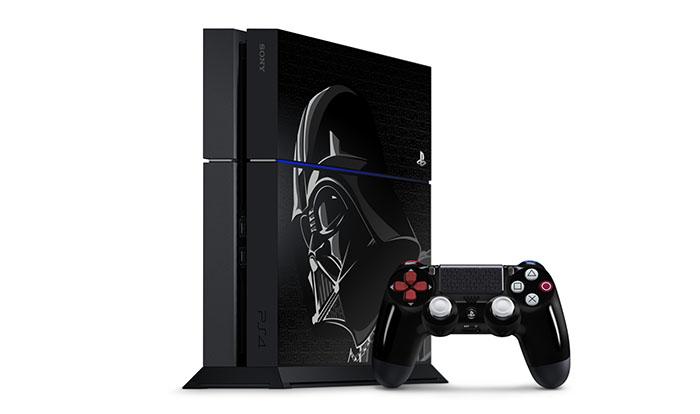 PS4 в стиле Star Wars