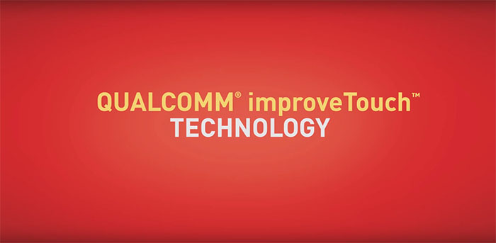 Технология Qualcomm improveTouch для Xperia Z4 tablet