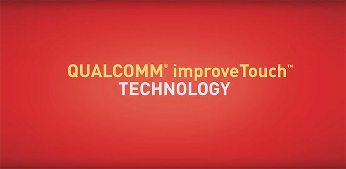 Технология Qualcomm improveTouch для Xperia Z4 tablet