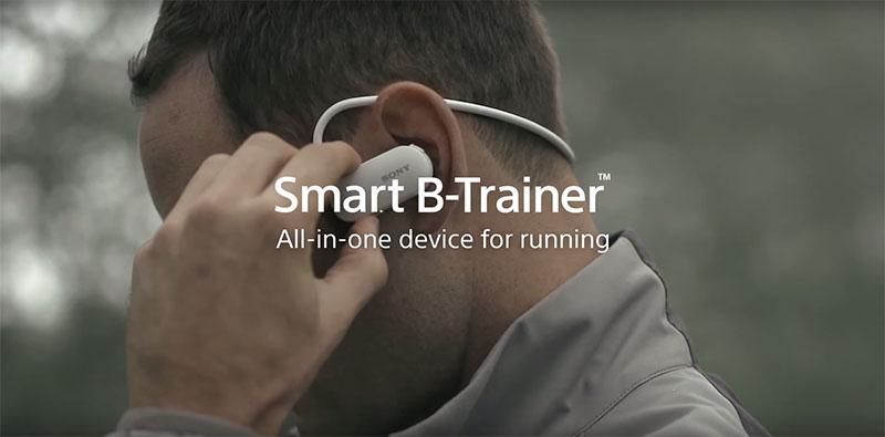 наушники трекер Smart B-Trainer для бега