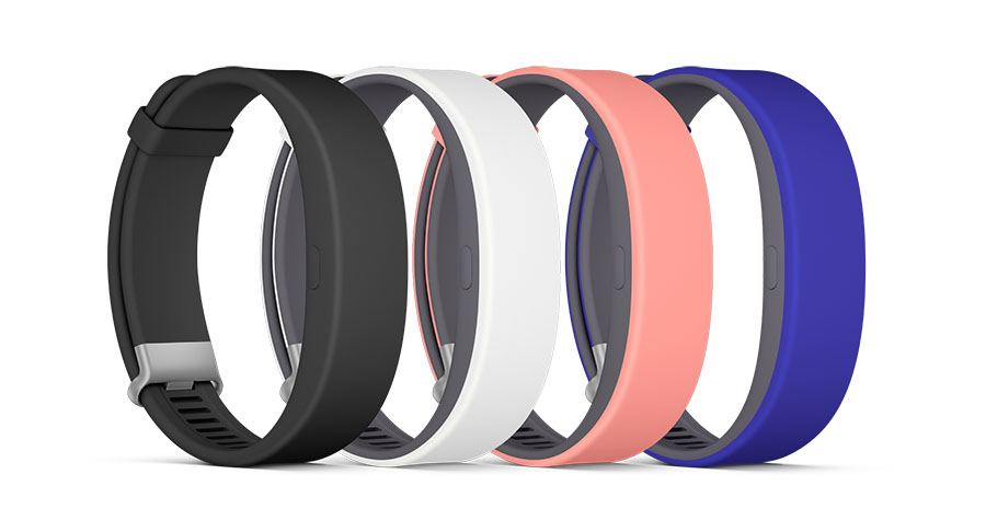 Sony Smartband 2 - все цвета
