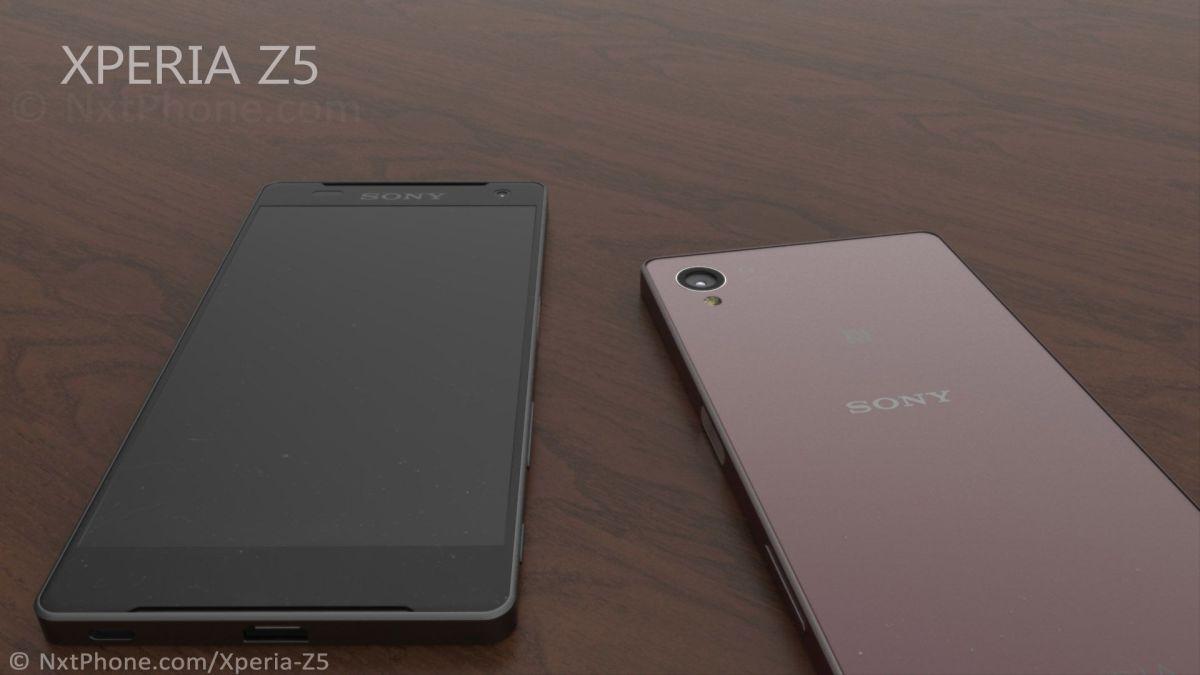 концепт Xperia Z5 - камера