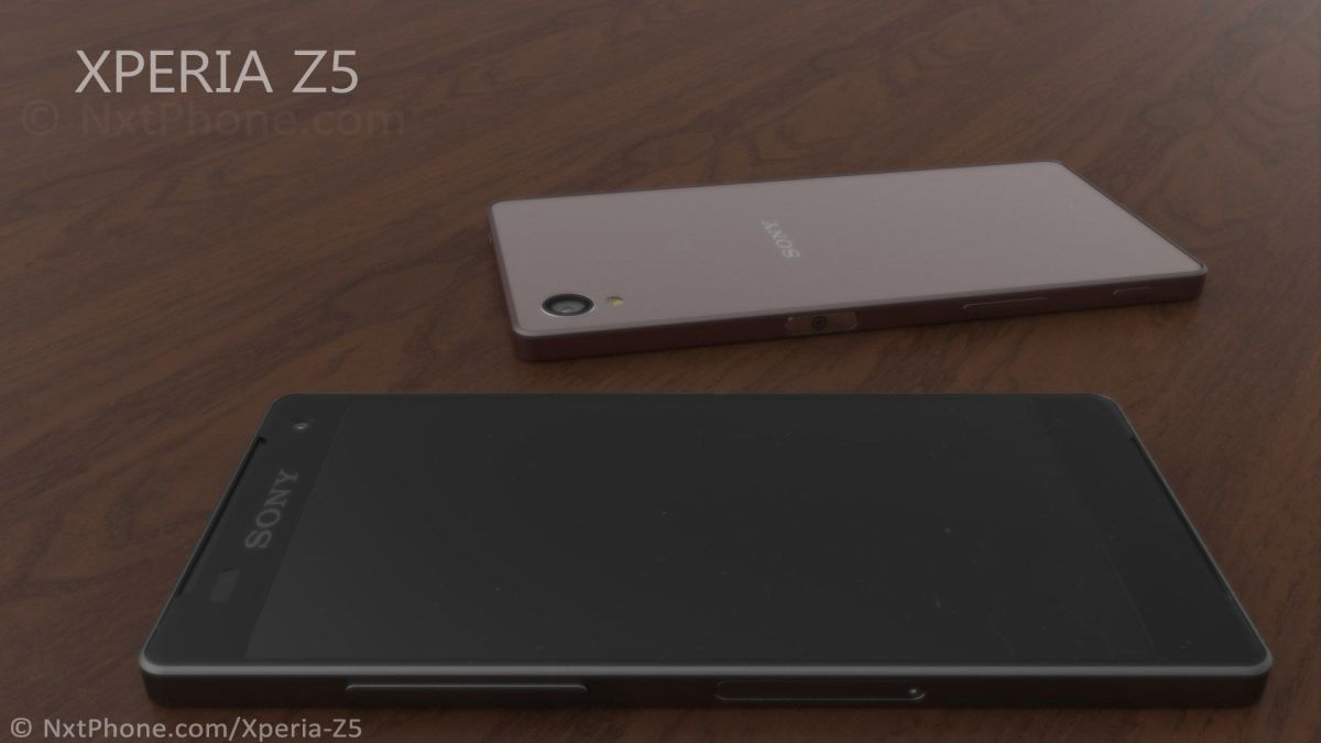 концепт Xperia Z5 - рендеры