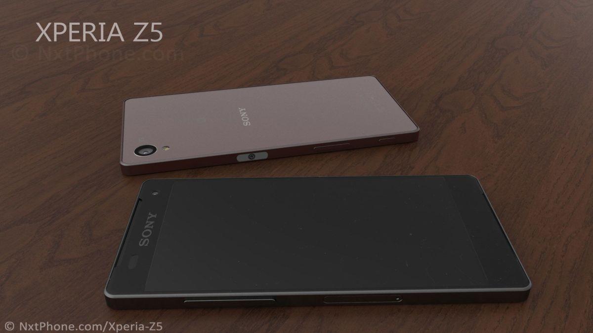 концепт Xperia Z5 - кнопка питания