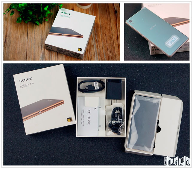 Подборках крутых фото Xperia Z3+ Dual - распаковка
