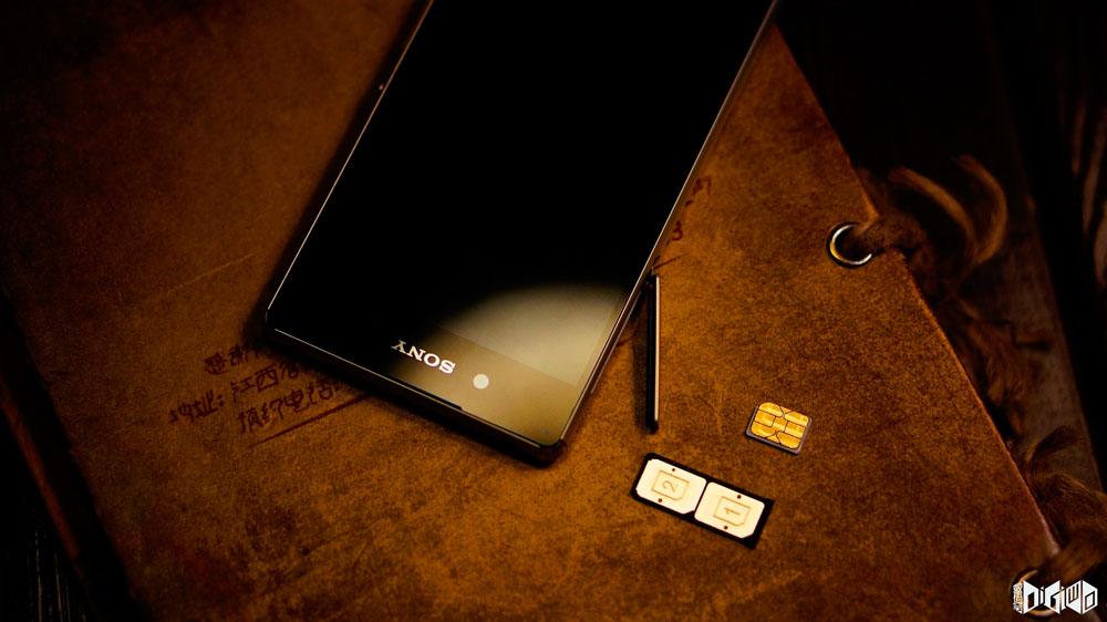 Подборках крутых фото Xperia Z3+ Dual - две сим-карты