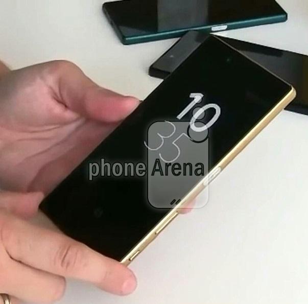 Золотой Xperia Z5