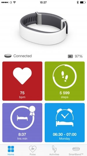 приложение для iOS SmartBand 2